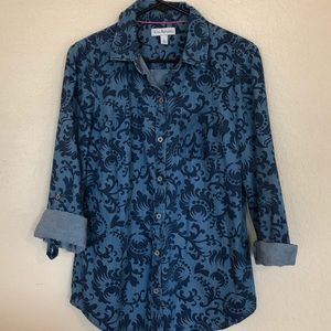 Kim Rogers denim shirt size small